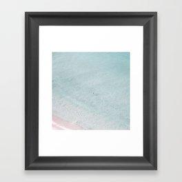 beach - summer of love IV Framed Art Print
