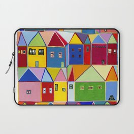 Little Houses Laptop Sleeve