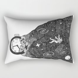 Time Exploding Rectangular Pillow