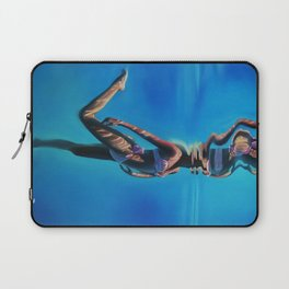 Dancing in the blue abyss Laptop Sleeve