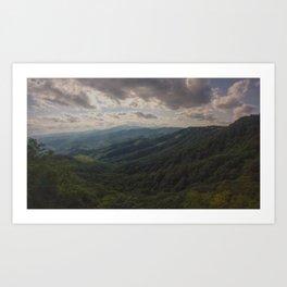 Blowing Rock - NC Art Print