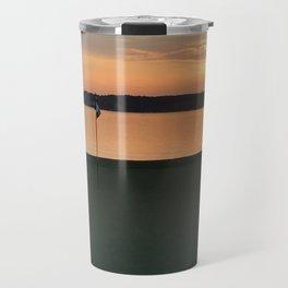 11 at Sunset Travel Mug