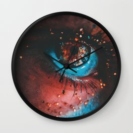 Clean light Wall Clock
