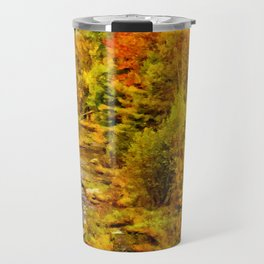 Autumn On The Ammonoosuc Travel Mug