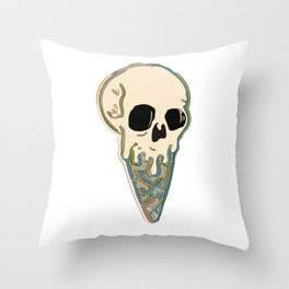 (D)ICE.CREAM Throw Pillow