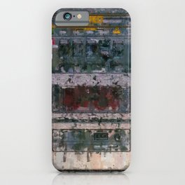 cassette recorder  - painting / illustration iPhone Case