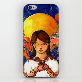 Grow your world iPhone Skin