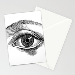 Eyes without a face Stationery Cards