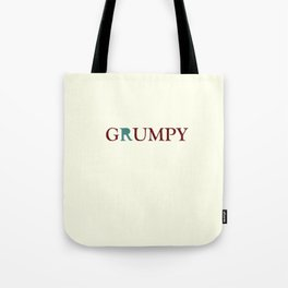 Grumpy Red Tote Bag