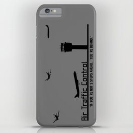 Air Traffic Control iPhone Case