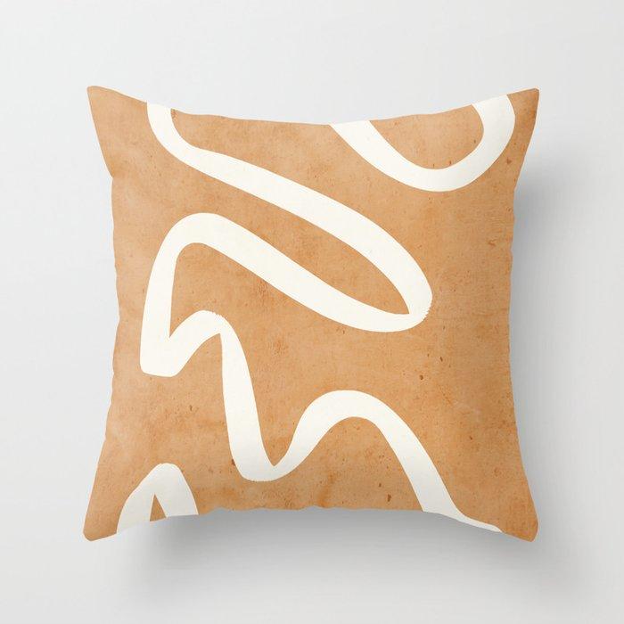 abstract minimal 31 Throw Pillow