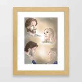 We Will Find Our Humanity Again Framed Art Print
