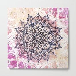 Airy Mandala Metal Print