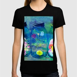 Flowers Jars T-shirt