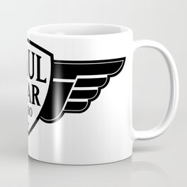 Paul Star Hero Logo Black Coffee Mug
