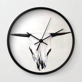 Bone Wall Clock