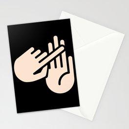 Alpena Michigan Hand Map Stationery Cards