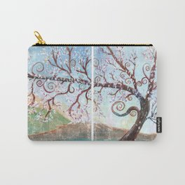 Fantasy Tree Watercolor Art Carry-All Pouch