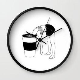 Coffee, First Wall Clock
