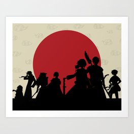 Yona of the Dawn Minimalist Art Print