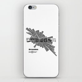 Dresden Map iPhone Skin