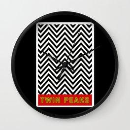 Twin Peaks Disobey Wall Clock