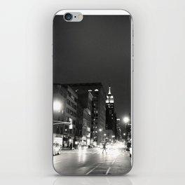 New York City at Night iPhone Skin