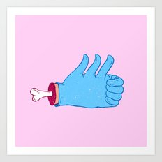 My like is bigger than yours! Art Print
