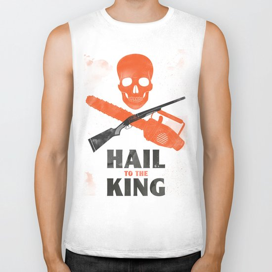Hail to the King! Biker Tank