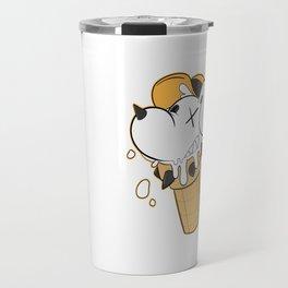 Cone Dog Vanilla Travel Mug