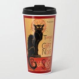 La tournée du Chat Noir  (The Black Cat show) Travel Mug