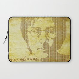 There is a MAGI in Imagine Laptop Sleeve