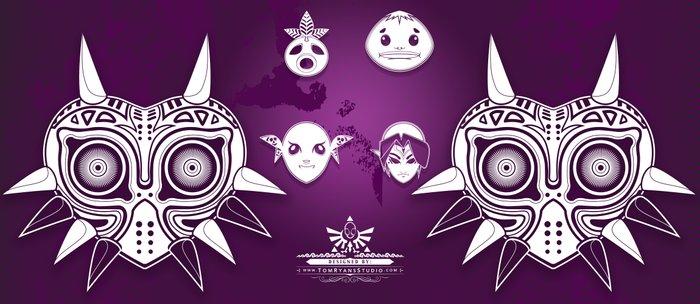 The Legend of Zelda Majora's Mask Terrible Fate Nintendo Geekery Poster/ Fine Art Print / Retro Game Coffee Mug