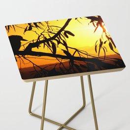 Kookaburra Silhouette Solstice Sunset Side Table