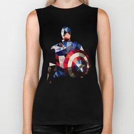 Polygon Heroes - Captain America Biker Tank