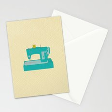 Sewing Machine Stationery Cards