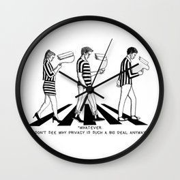 The privacy problem Wall Clock