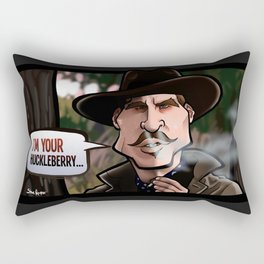 I'm Your Huckleberry (Tombstone) Rectangular Pillow