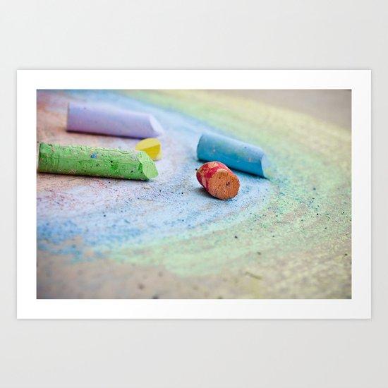 The Rainbow Connection Art Print