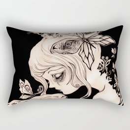 Alice Dreaming Rectangular Pillow