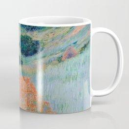 Poppy Field in a Hollow near Giverny Claude Monet Coffee Mug