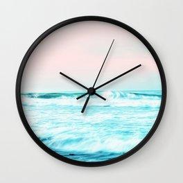 Sun. Sand. Sea. #society6 #decor #buyart Wall Clock