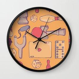 Retro games Wall Clock