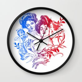 Little Whispers Wall Clock