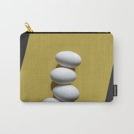 Eggs on yellow sheet Carry-All Pouch