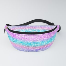 Unicorn Girls Glitter #15 #shiny #decor #art #society6 Fanny Pack