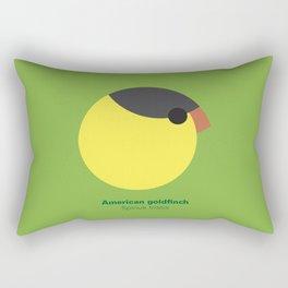 American goldfinch Rectangular Pillow