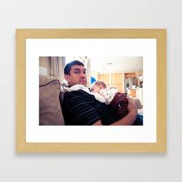Matt and Kate Framed Art Print
