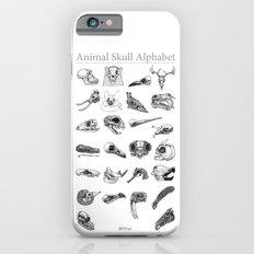 Animal Skull Alphabet iPhone 6 Slim Case