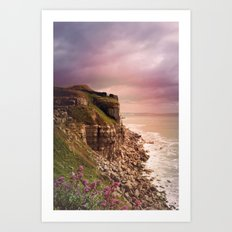 Dorset Coast Art Print